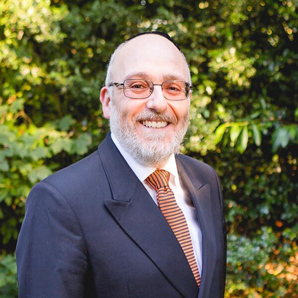 Rabbi Belovski - Head Office Staff